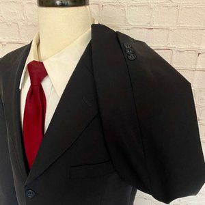 Brooks Brothers 346 Stretch Black Wool Blazer 43L